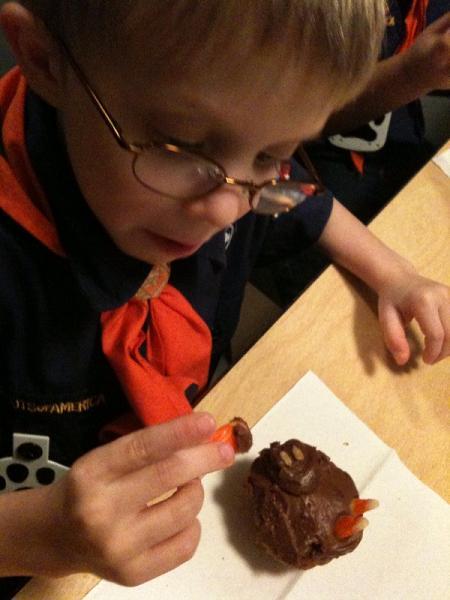 Cubs Jack cupcake
