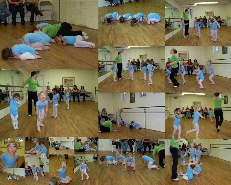 Creative Movement Open House Collage