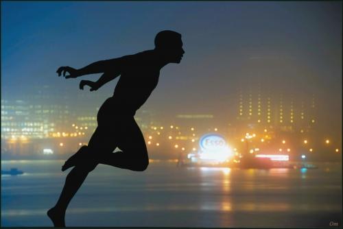 anytime fitness running man. Running-man