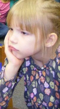 Sophia pouting