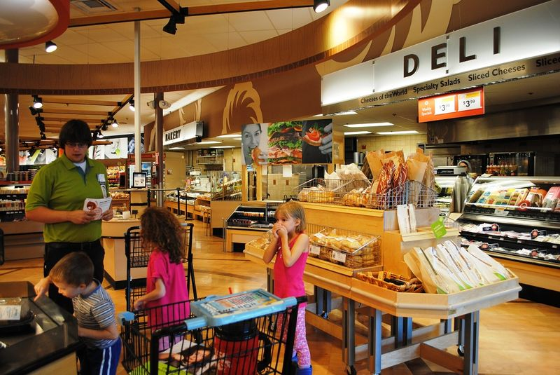David Was Our Tour Guide He Talked About Shopping The Perimeter And Took Us First To Deli At Each Store Department Asked If Kids Knew What
