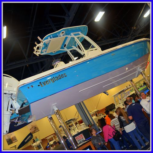 021515 Miami Boat Show Everglades Booth 1