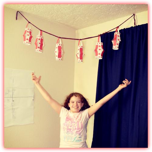 Canada Paper Lanterns