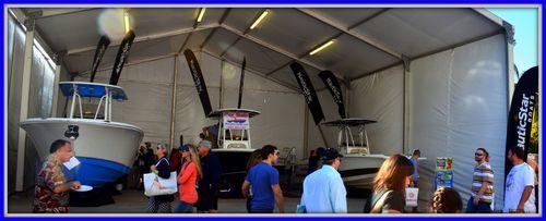 021515 Miami Boat Show NauticStar Booth