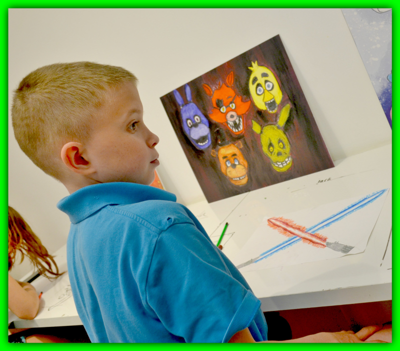 Young Art Lesson 021