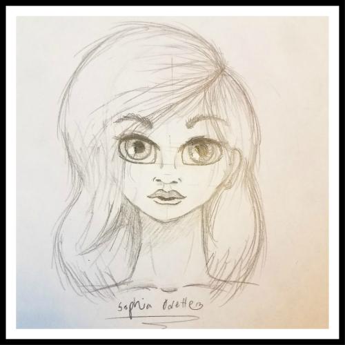 Sophia's Female Face