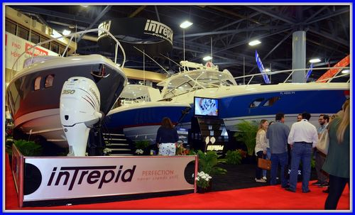 021515 Miami Boat Show Intrepid Booth