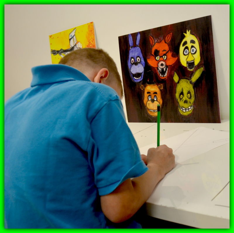 Young Art Lesson 009