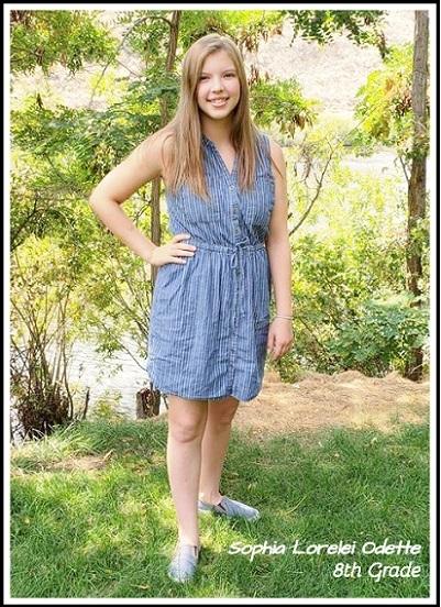 Sophia 8th Grade