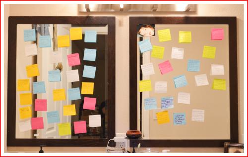 Mirror notes