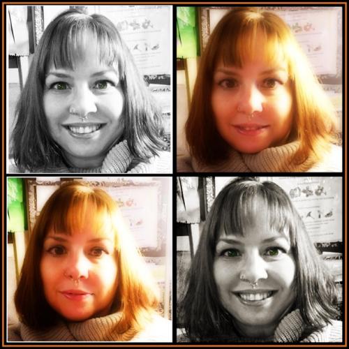 December 2018 Selfie Collage