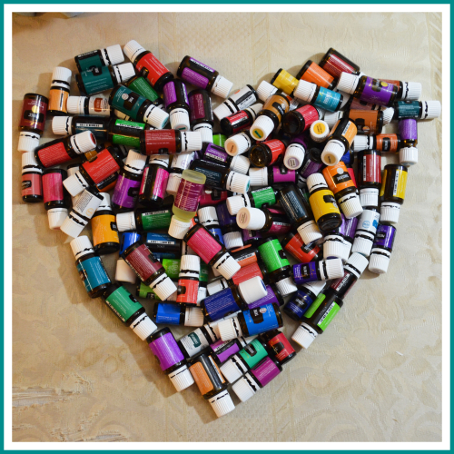 Oils collection - Heart