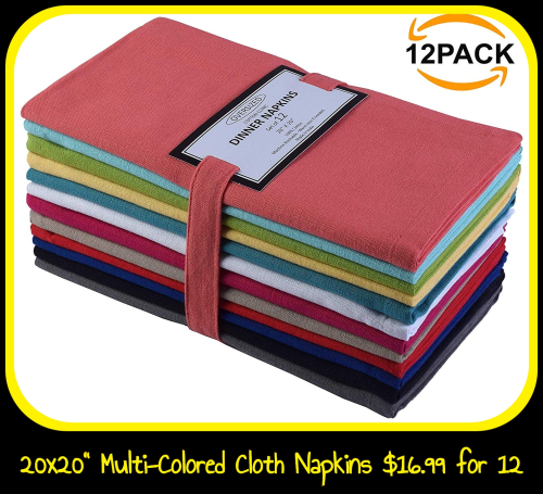 Multi-Colored Napkins