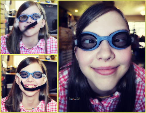 Sophie Goggles Collage