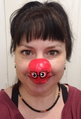 Red Nose Day Ruby