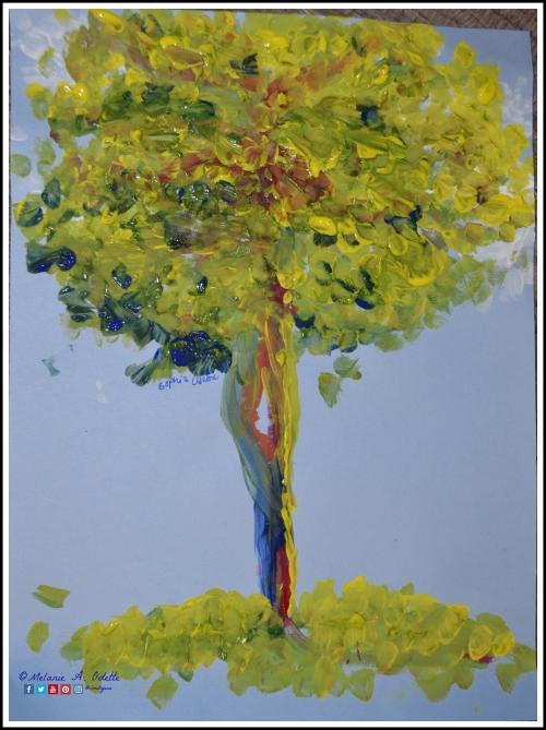 03122019 Impressionistic Monet Tree