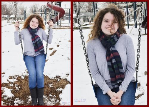 December 2019 Christmas Cards Chloë Collage