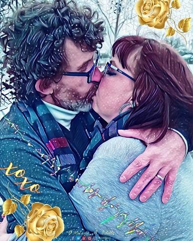 December 2019 Cards Rob and Melanie